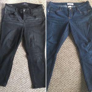 2 Torrid Hi-Rise Curvy Jeans